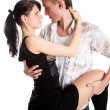 Dancing couple — Stock Photo #3992602