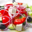Greek salad — Stock Photo #4450640