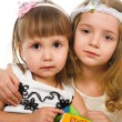 Stock Photo: Little girls