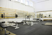 Gym room — Stock fotografie