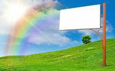 Advertising column — Zdjęcie stockowe