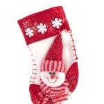 calcetín de Navidad colgante — Foto de Stock