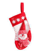 Hanging Christmas Stocking — Stock Photo