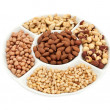 Variety of nuts - Stock Photo