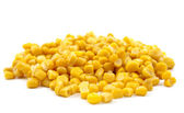 Canned corn — Stock Photo