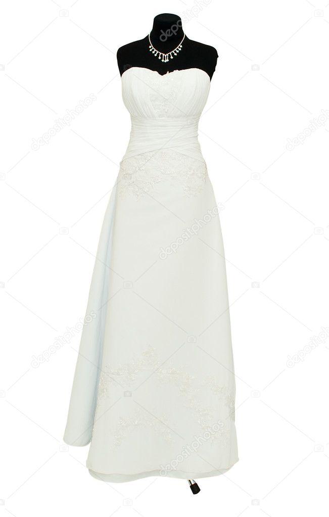 Wedding Dress On A Mannequin Stock Photo C Ksena32 5134896