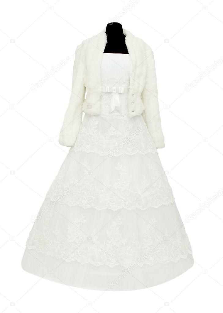 Wedding Dress On A Mannequin Stock Photo C Ksena32 5134901