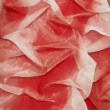 Stock Photo: Red fabric