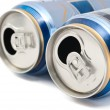 Cans of beer — Stock Photo