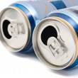 Stock Photo: Cans of beer