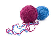 Balls of yarn — Stock Photo