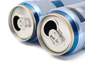 Plechovky piva — Stock fotografie