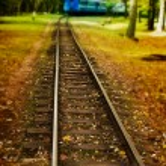 Train track — Stock Photo #4079508