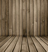 Colorful wooden wall — Stock Photo