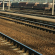 Railway yard — Stock Photo