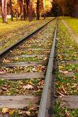 Torów kolejowych — Zdjęcie stockowe