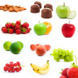 Photo: Set of fruits and vegetables
