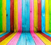 Fond en bois créatif — Photo