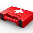 First aid kit on white background. Isolated 3D image — Stock Photo #4192421
