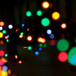 Festive lights - Stock Photo
