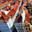 Roofs of Prague - Stockfoto