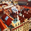 Prague's roofs — Stock Photo