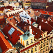 Prague's roofs — Stockfoto