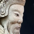 Ancient asian statue - Stock Photo