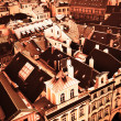Stock Photo: Roofs of Old Prague