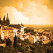 Foto Stock: Prague castle