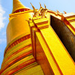 Gold stupa - Stock Photo