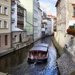 Prague's canal — Stock Photo