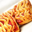 Viennese cookies — Stock Photo