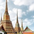 Wat Pho temple. Bangkok — Stock Photo #4551434