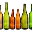 Empty bottles - Stock Photo