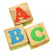 Wooden ABC — Foto de Stock