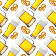 Beer seamless pattern — Stockfoto