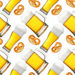 Beer seamless pattern — Stock fotografie