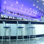 Bar interior — Stock Photo