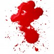 Stock Photo: Blood splatters