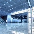 Large modern hall — Stock Photo #4554170
