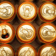 Beer cans — Stock Photo #4554253