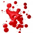 Blood splatters - Foto Stock