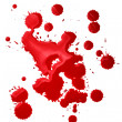 Royalty-Free Stock Photo: Blood splatters