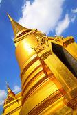 Stupa a wat phra kaeo — Foto Stock