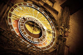Old astronomical clock — Photo