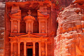Treasury-Tempel in petra — Stockfoto