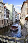 Prague's canal — Stock Photo