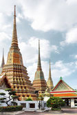Wat pho tempel. bangkok — Stockfoto