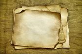 Stapels oude papieren — Stockfoto